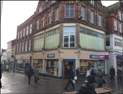1,744 SF High Street Shop for Rent  |  9A - 11 High Street, Chesterfield, S40 1PS