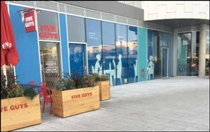 2,996 SF Retail Park Unit for Rent  |  Unit 5, Waterfront, Brighton, BN2 5WA