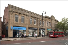 2,109 SF High Street Shop for Rent  |  Unit 5, Chester Le Street, DH3 3AW
