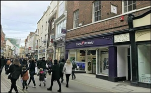 3,129 SF High Street Shop for Rent  |  36 Coney Street, York, YO1 9ND