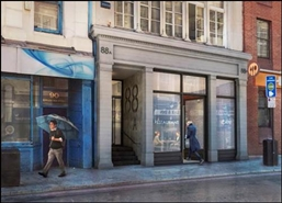 2,100 SF High Street Shop for Rent  |  88 Borough High Street, London, SE1 1LL