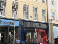 1,033 SF High Street Shop for Rent  |  27 Westgate Street, Ipswich, IP1 3DR