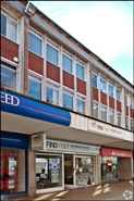 1,065 SF High Street Shop for Rent  |  37 Queens Square, Crawley, RH10 1HA
