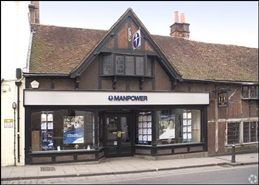 693 SF High Street Shop for Rent  |  17 Jewry Street, Winchester, SO23 8RZ