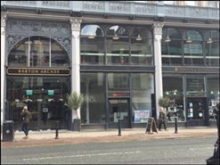 733 SF High Street Shop for Rent  |  Barton Arcade, Manchester, M3 2BH