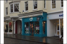 630 SF High Street Shop for Rent  |  156 High, Guildford, GU1 3HJ