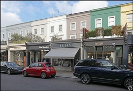 186 SF High Street Shop for Rent  |  196 Westbourne Grove, London, W11 2RH