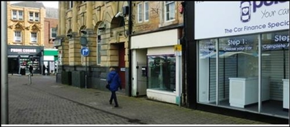 275 SF High Street Shop for Rent  |  2 Market Place, Mansfield, NG18 1HU