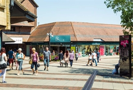 26,846 SF Shopping Centre Unit for Rent  |  12 Ivel Square, Yeovil, BA20 1EY