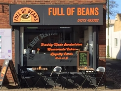 354 SF High Street Shop for Rent  |  Full of Beans Cafe, Henfield, BN5 9DB