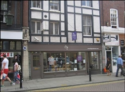 566 SF High Street Shop for Rent  |  26 - 28 Thames Street, Kingston Upon Thames, KT1 1PE
