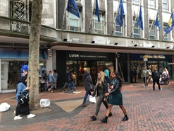 1,052 SF High Street Shop for Rent  |  Brittania Hotel, Birmingham, B2 4RQ