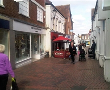 1,291 SF High Street Shop for Rent  |  13 Swan Lane - The White Company, Guildford, GU1 4EQ