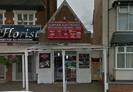 300 SF High Street Shop for Sale  |  201 Alum Rock Road, Birmingham, B8 1EU
