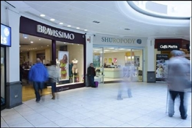 1,576 SF Shopping Centre Unit for Rent  |  Unit 6, Queens Arcade Shopping Centre, Cardiff, CF10 2BY