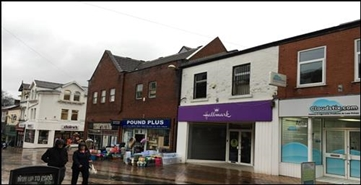677 SF High Street Shop for Rent  |  15 Chapel Street, Chorley, PR7 1BN