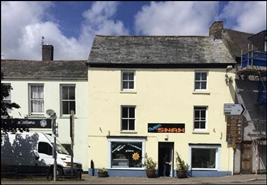 189 SF High Street Shop for Rent  |  25 Honey Street, Bodmin, PL31 2DL