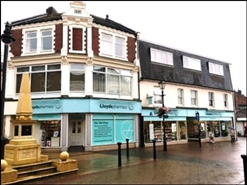 1,900 SF High Street Shop for Rent  |  High Street Chambers, Normanton, WF6 2AB