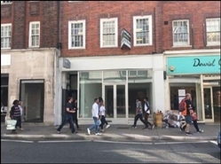 1,049 SF High Street Shop for Rent  |  6 George Street, Richmond, TW9 1JY