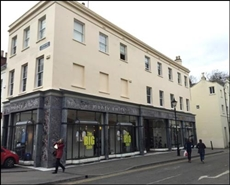 1,442 SF High Street Shop for Rent  |  Ormond Place, Cheltenham, GL50 1JD