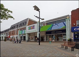 1,228 SF Shopping Centre Unit for Rent  |  Westbury, Fareham, PO16 0PW