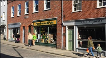 1,049 SF High Street Shop for Rent  |  Unit 1, Christchurch Buildings, Chichester, PO19 1DP