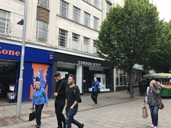 1,918 SF High Street Shop for Rent  |  28 - 30 Lister Gate, Nottingham, NG1 7DD