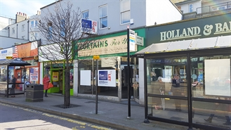 1,265 SF High Street Shop for Rent  |  22 Queens Road, Hastings, TN34 1LU