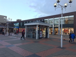 104 SF Shopping Centre Unit for Rent  |  Kiosk 41b, 18 Market Square, Charter Walk, Burnley, BB11 1AE