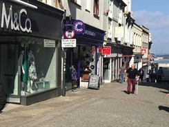2,491 SF High Street Shop for Rent  |  32 Market Place, Penzance, TR18 2JF