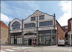 1,381 SF Shopping Centre Unit for Rent  |  Fountain Arcade, Dudley, DY1 1PF
