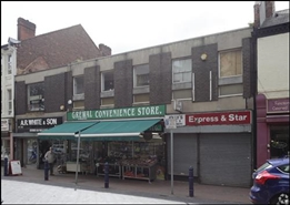 425 SF High Street Shop for Rent  |  44 Church Street, Bilston, WV14 0AH