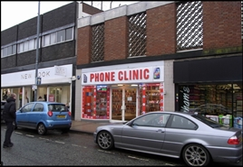 943 SF High Street Shop for Rent  |  121 High Street, Erdington, B23 6SA