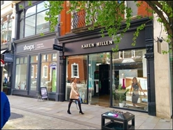 1,167 SF High Street Shop for Rent  |  48 King Street, Manchester, M2 4LG