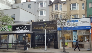 1,141 SF High Street Shop for Sale  |  26 Queens Road, Hastings, TN34 1QY