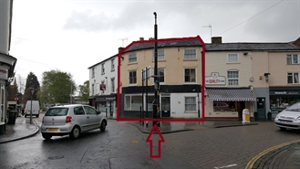 363 SF High Street Shop for Sale  |  5 High Street, Stourport On Severn, DY13 8DH