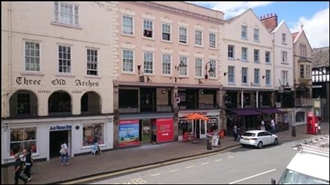 5,939 SF High Street Shop for Rent  |  44 Bridge Street Row, Chester, CH1 1NQ