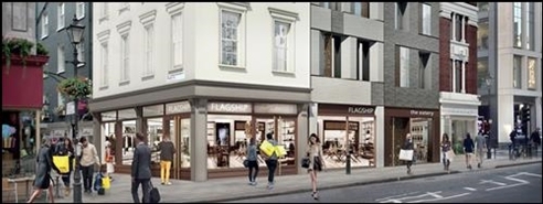 1,111 SF High Street Shop for Rent  |  Pontefract Castle, London, W1U 1QA