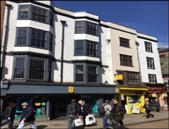 853 SF High Street Shop for Rent  |  41 - 42 Cornmarket Street, Oxford, OX1 3HA