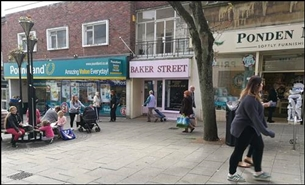 278 SF High Street Shop for Rent  |  16A Middle Street, Yeovil, BA20 1LY