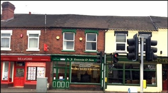 1,161 SF High Street Shop for Sale | 491 Hartshill Road, Stoke On Trent, ST4 7NR
