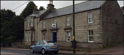 1,201 SF Out of Town Shop for Sale  |  Former Bank - New Pitsligo, Fraserburgh, AB43 6NF