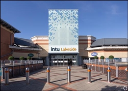 295 SF Shopping Centre Unit for Rent  |  Unit 34a, Intu Lakeside, Grays, RM20 2ZF