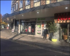 1,030 SF High Street Shop for Rent  |  Unit 3, Buckingham Parade, Stanmore, HA7 4EB