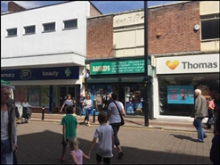 756 SF High Street Shop for Rent  |  33 Bradshawgate, Leigh, WN7 4NB