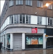 1,213 SF High Street Shop for Rent  |  1 Westgate, Wakefield, WF1 1JZ