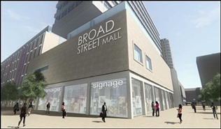 12,604 SF Shopping Centre Unit for Rent  |  Broad Street Mall / Fountain House, Reading, RG1 7QG