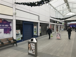 945 SF Shopping Centre Unit for Rent  |  Unit 21, Clock Towers Shopping Centre, Rugby, CV21 2JS
