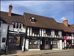 690 SF High Street Shop for Rent  |  13 - 14 Meer Street, Stratford Upon Avon, CV37 6QB