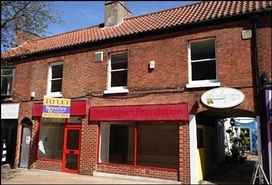 581 SF High Street Shop for Rent  |  57 - 59 Bridge Street, Worksop, S80 1DG